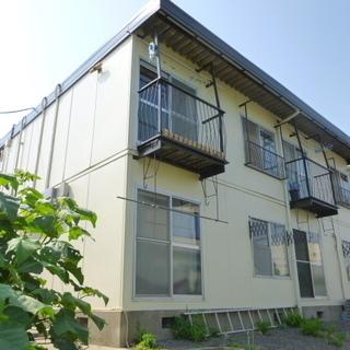 真鍋エリアで初期費用3万円で入居出来る 2DKのアパートです。 猫や小動物の飼育相談可能(犬不可)敷金のお預かりがあります。の画像