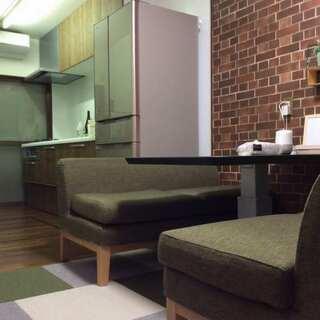京都西京区戸建ての少人数シェアハウス 家具家電生活必需品完備