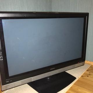 HITACHI 2007年製 37インチ プラズマテレビ  ジャンク品
