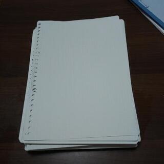 ルーズリーフ B5サイズ 用紙