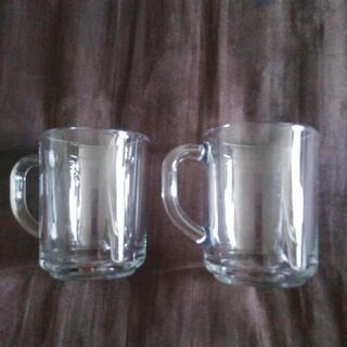 耐熱グラスマグカップ(2個)