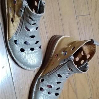 ブーツ(本革 春夏秋 定価17800→10000