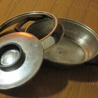 すき焼き鍋と片手鍋差し上げます。