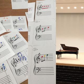 ピアノエレクトーン練習でアンサンブルも