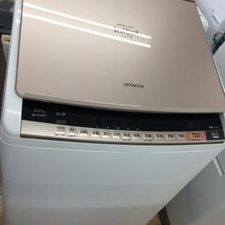 安心の1年間返金保証!HITACHI(ヒタチ)の縦型洗濯乾燥機です。