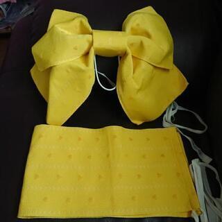 浴衣の結び帯(黄色)⤵️値下げ