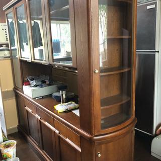 🌲カリモク🌲食器棚 定価50万以上 ✨美品✨