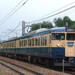 鉄道写真 しなの鉄道 115系 スカ色5両編成