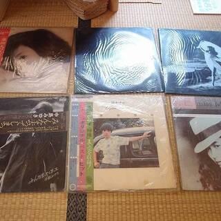 福島県発 中島村発 中島みゆきなど LPレコード 大量まとめて6...