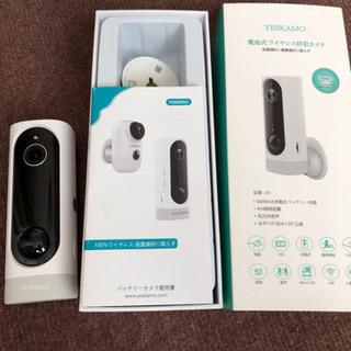 防犯カメラ ワイヤレス 充電式 リモート会話可能
