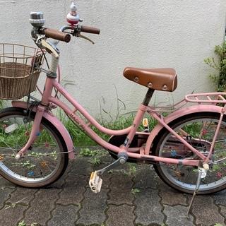 子ども用自転車18インチ