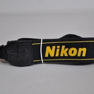 NIKON カメラ ストラップ D-5300に付属の中古品