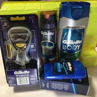 Gillette 4点セット
