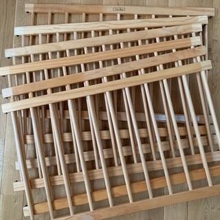 【中古】木製ベビーサークル ファルスカ