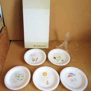 ☆KORANSHA 香蘭社 W-517-FXR 月ごよみ 飾り皿...