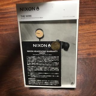値下‼️新品‼️NIXON🌟wire 8mm  イヤホン 定価6...