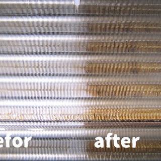 エアコン掃除  分解高圧洗浄