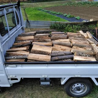広葉樹ミックス薪 40cm 乾燥1年未満