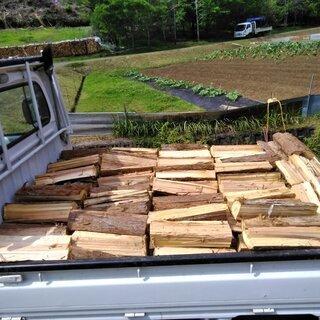 針葉樹の薪 40cm 乾燥1年未満