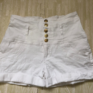 ショートパンツ XL ホワイト