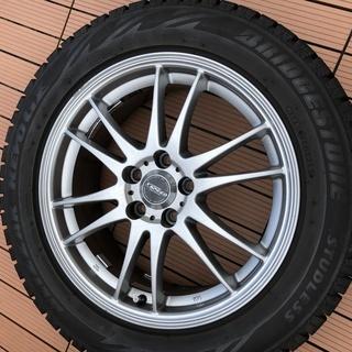 レガシーBHのスタッドレスタイヤ&アルミホイール4本セット