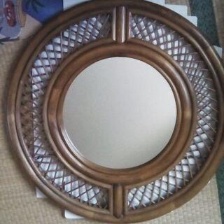 籐製品 鏡