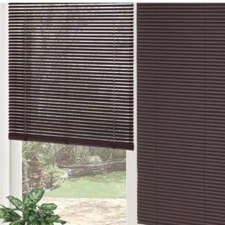 ニトリ 新品未使用 木目調ブラインド  ブラウン 130×138