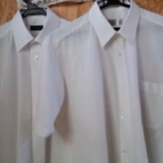 0円 ビジネスワイシャツ半袖2点(プロフ必読)