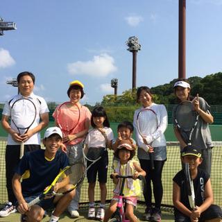 【テニス教室】粕屋町開催のテニススクール
