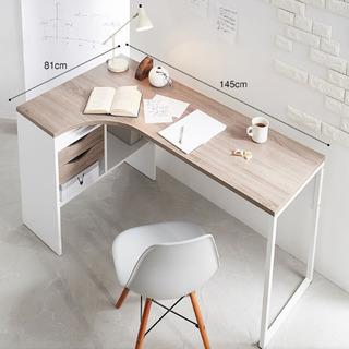引き取り限定★L字デスク LOWYA  北欧 デンマーク産  ブラックオーク - 家具