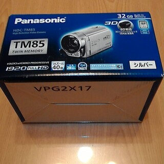 パナソニック デジタルハイビジョンビデオカメラ HDC-TM85...