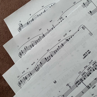 PrincessPrincess  「M」のピアノソロ楽譜