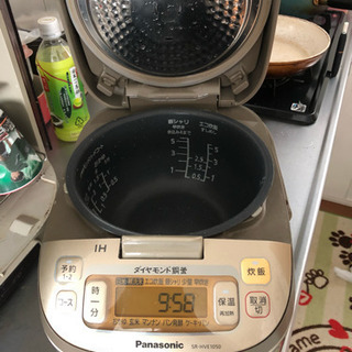 Panasonic ダイヤモンド銅釜 5.5合 2016年製