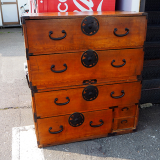 ◆昭和レトロ 時代箪笥 和箪笥 ヴィンテージ 骨董 古民家…