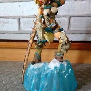 [最終値下げ]モンスターハンター  女剣士ベリオ装備フィギュア