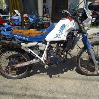 ヤマハSR400 ホンダはMTX50