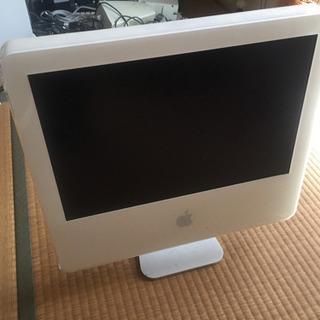 ジャンク 白 iMac