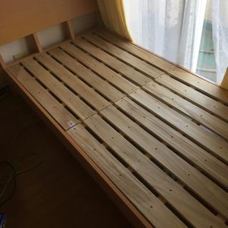 ニトリで購入したシングルベッド