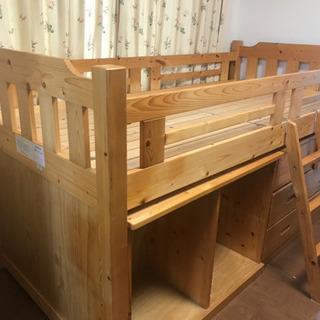 木製 ロフトベット