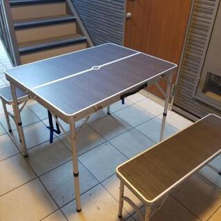 【商談中】折りたたみチェアー&テーブルセット