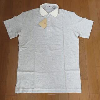 新品 ポロシャツ TORENTA OTTO イタルスタイル グレー