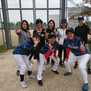 【急募】女子草野球チーム2019年秋から本格スタート! 初心者大歓迎!