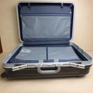 キャリーバック ブラック 鍵付き スーツケース キャリーケース トランクケース メンズ レディース 黒 旅行 大きサイズ ガラガラ タイヤ 付き 中古 宮城 - 靴/バッグ