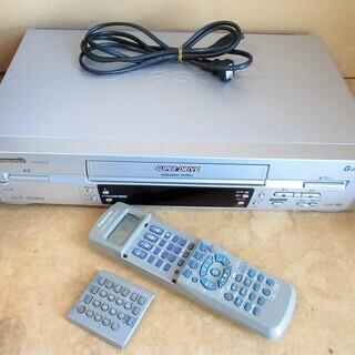 ☆パナソニック Panasonic NV-HV7G VHSレコー...