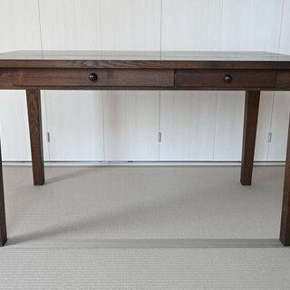 ダイニングテーブル 無垢材120cm【増井林業】
