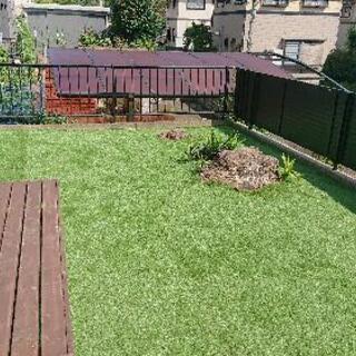 人工芝でお庭をバージョンアップ!