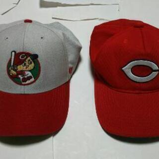 カープ帽子2個
