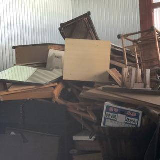 家具の解体木 大量にあります!