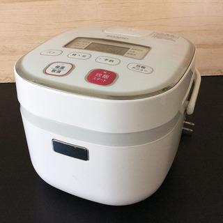 シャープ 炊飯器 KS-C5G-W 0.54L 3合炊き ホワイト