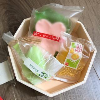 さくら石鹸 緑茶石鹸 たんぽぽ石鹸セット